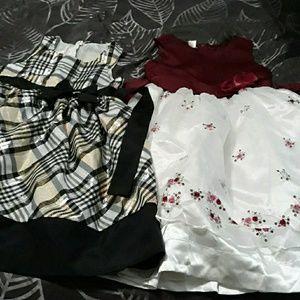 Lot 2 Girls Formal Dresses 8-10 BNWoT Ashley Ann